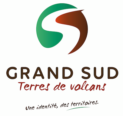 logo groupement d'action locale grand sud terres de volcans