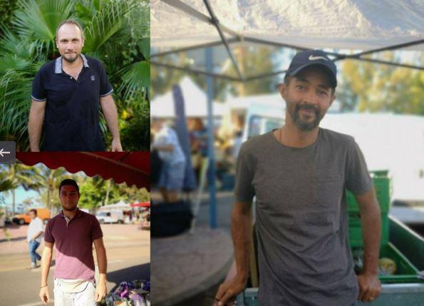 Julien, Laurent et Christian sont les nouveaux venus de la semaine